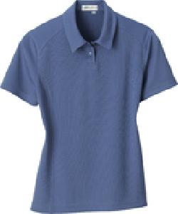 Ash City e.c.o Knits 75053 - Ladies' Recycled polyester Performance Birdseye Polo