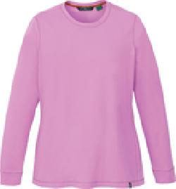 Ash City e.c.o Knits 78634 - Ladies' Organic Cotton/Spandex Jerdey Long Sleeve Crew