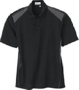 Ash City e.c.o Knits 85091 - Men's Recycled Polyester Performance Honeycomb Color Block Polo