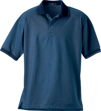 Ash City Jacquard 225466 - Men's Chromatic Herringbone Jacquard Polo