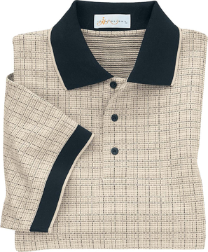 Ash City Jacquard 85019 - Men's Renaissance Check Jacquard ...