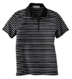 Ash City Jersey 75034 - Ladies' Jersey Stripe Polo