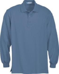 Ash City Jersey 85058 - Men's Long Sleeve Jersey Polo