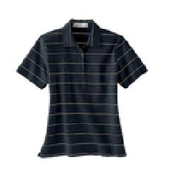 Ash City Performance 75035 - Ladies' Poly Spandex Yarn-Dyed Stripe Polo