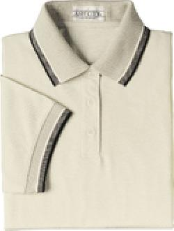 Ash City Pique 125229 - Ladies' Tri-Color Bridseye Trim Pique Polo