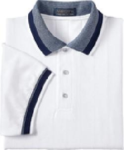 Ash City Pique 225447 - Men's Ribbon Pique Polo With ...