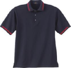 Ash City Pique 225455 - Men's Textured Stripe Pique ...