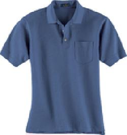 Ash City Pique 25441 - Men's Pique Polo With Pocket