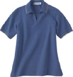 Ash City Pique 75010 - Ladies' Pique Polo With Textured ...