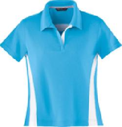 Ash City Pique 78616 - Ladies' Polyeter Pique Polo With ...