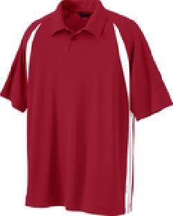 Ash City Pique 85053 - Men's Ployester Pique Shaped Ranlan Color-Block Polo