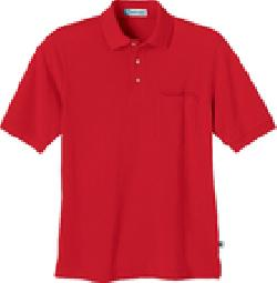 Ash City Pique 85074 - Men's One-Pocket Short Sleeve ...
