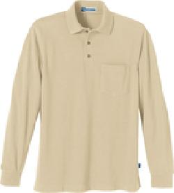 Ash City Pique 85076 - Men's One-Pocket Long Sleeve ...