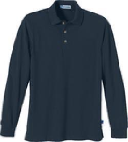 Ash City Pique 85077 - Men's Long Sleeve Extreme Pique Polo With Teflon