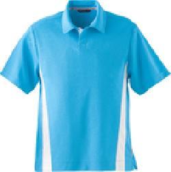 Ash City Pique 88616 - Men's Polyester Pique Polo With Stripe
