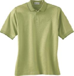 Ash City Textured 85063 - Men's Mercerized Textured Jacquard Polo