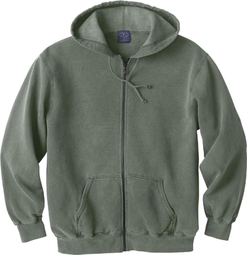 Ash City Vintage 221210 - Men's Vintage Hooded Zip Jacket