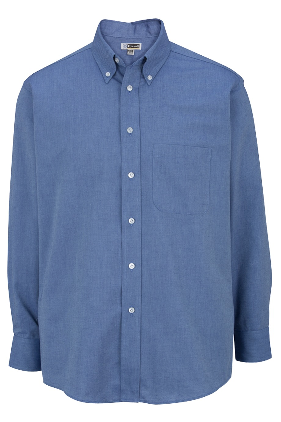 Edwards Garment 1077 - Men's Easy Care Long Sleeve Oxford