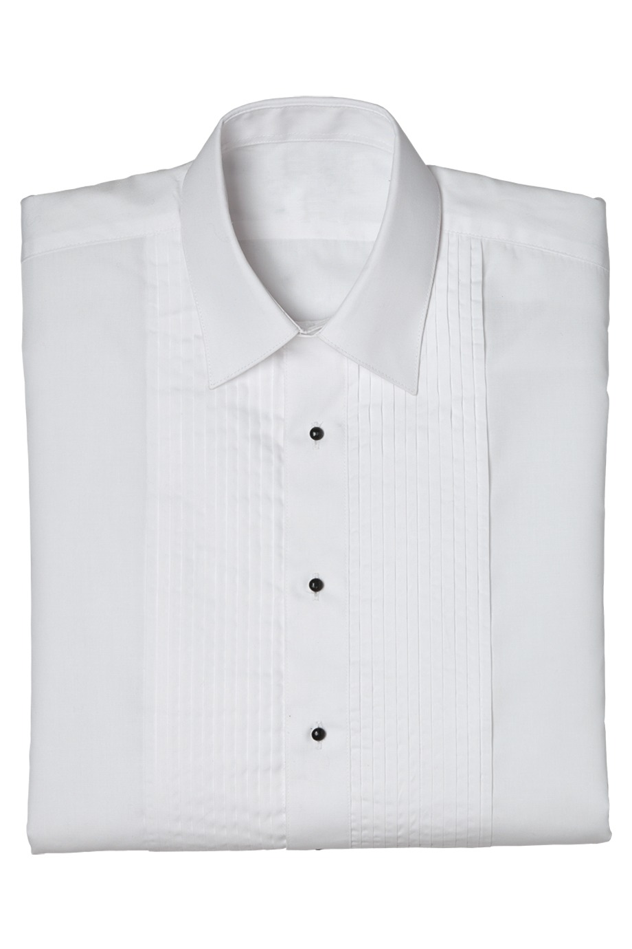 Edwards Garment 1393 - Men's Tuxedo Shirt Quarter Pleat