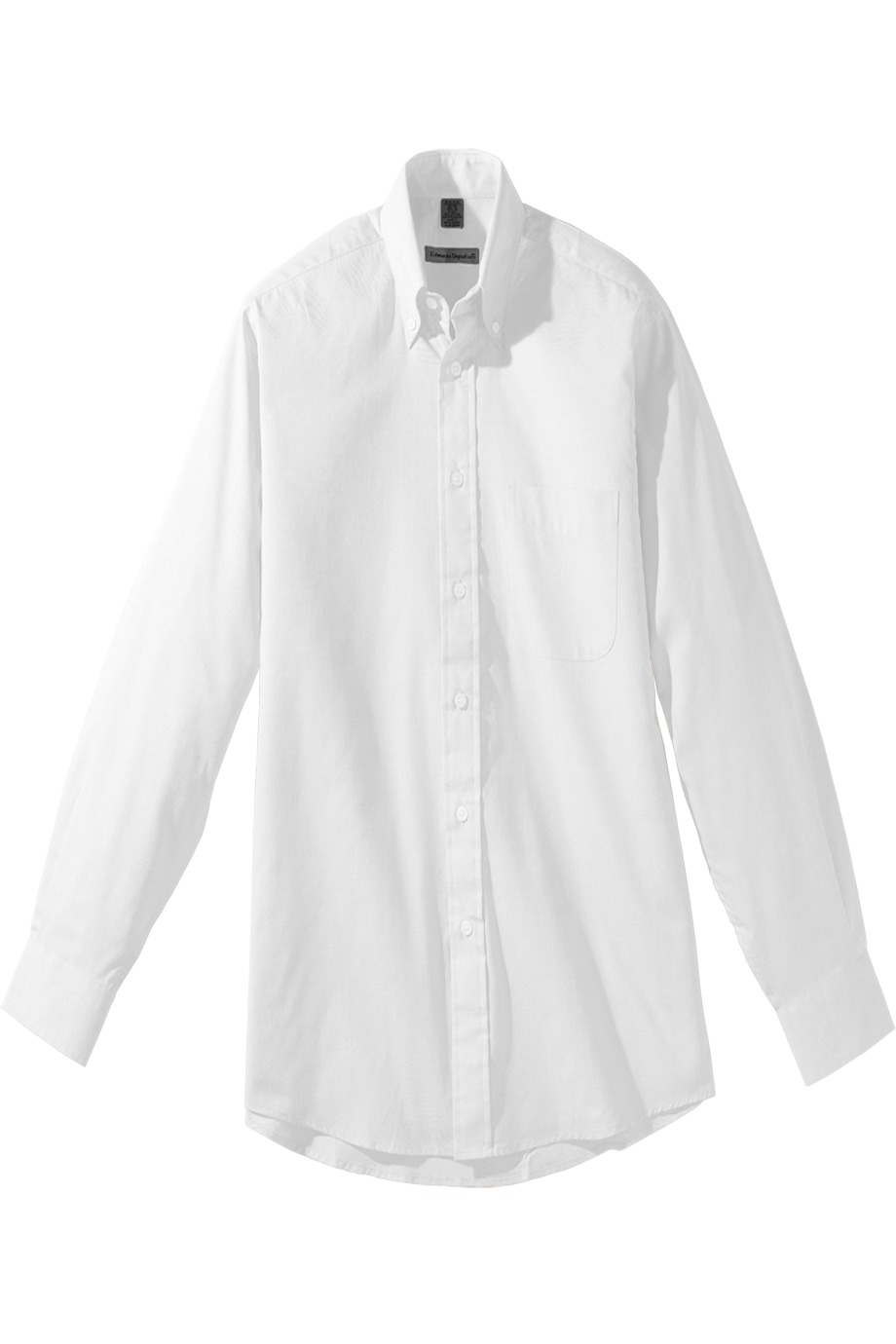 Edwards Garment 1975 - Men's Long Sleeve Pinpoint Oxford ...