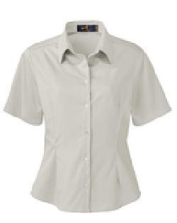 Ash City Easy care 77010 - Ladies' Short Sleeve Twill ...