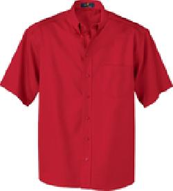 Ash City Easy care 87016 - Men's Short Sleeve Twill Shirt
