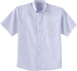 Ash City Easy care 87030 - Men's Short Sleeve Wrinkle Resistant Yarn-Dyed Shirt