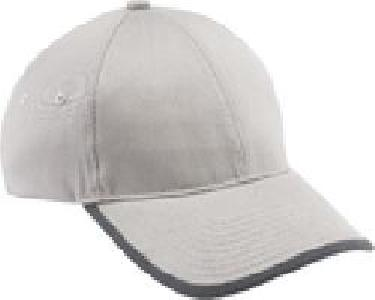 Ash City Lifestyle Classic caps 45015 - Unbrushed Chino Twill Cap With Rolled Edge