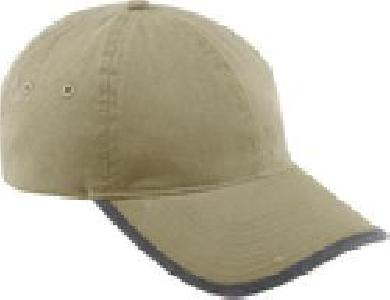 Ash City Lifestyle Classic caps 45017 - Vintage Chino Twill Cap With Rolled Edge