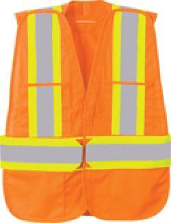 Ash City Lifestyle Vests 88709 - 5-Point Tear Away Safety Vest
