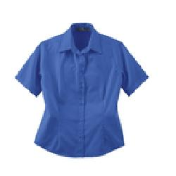 Ash City Twill 77013 - Ladies' Short Sleeve Shirt With ...