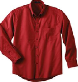 Ash City Twill 87015T - Men's Tall Long Sleeve Easy Care Twill Shirt