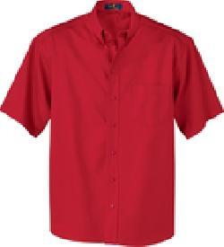Ash City Twill 87016T - Men's Tall Short Sleeve Easy ...