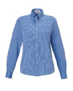 Ash City Wrinkle Free 77041 - Establish North End Wrinkle Resistant Cotton Blend Dobby Striped Shirt