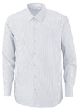 Ash City Wrinkle Free 88674 - Boardwalk Men's Wrinkle Free 2-Ply 80's Cotton Stripe Stripe Taped Shirt