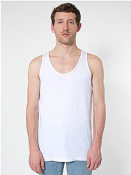 American Apparel 2411 Power Wash Tank