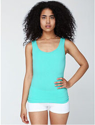 American Apparel 8308 Ladies' Cotton/Spandex Tank