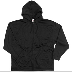 Dodger 51800 Dri Poly Fleece Full Zip Hood