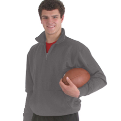 Dodger 91800 Dri Poly Fleece 1/4 Zip Mock Neck