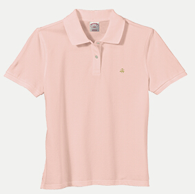 Brooks Brothers BR0251 346 Ladies' Golden Fleece Polo