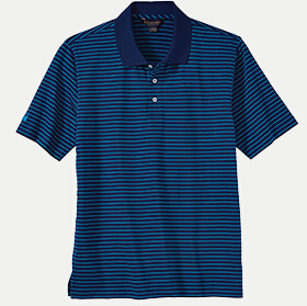 Brooks Brothers BR2108 Fine Stripe Jersey Polo
