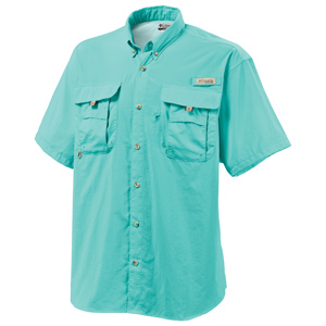 Columbia 7047 Men's Bahama II Short Sleeve Shirt