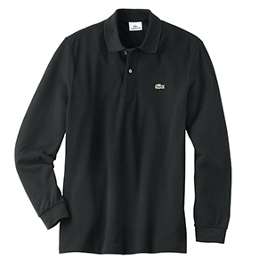 Lacoste L1312 Men's Long Sleeve Polo Shirt
