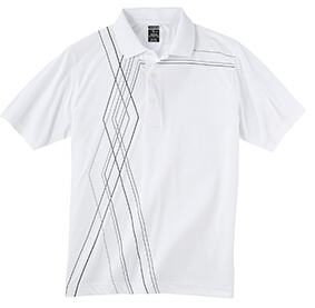Page & Tuttle P21089 Men's Side Print Jersey Polo
