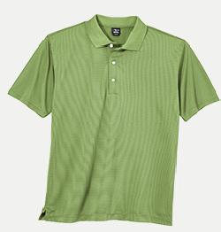 Page & Tuttle P39149 Men's Tri-Tone Stripe Jersey Polo