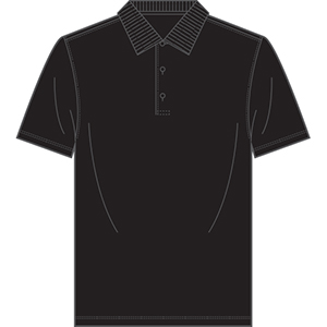 Page & Tuttle P39909 Men's Solid Jersey Polo