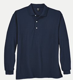 Page & Tuttle P39989 Men's Long-sleeve Solid Lacoste ...