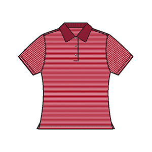 Page & Tuttle P49159 Ladies' Cool Swing Pinstripe Jersey ...