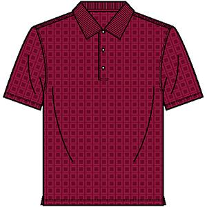 Page & Tuttle P49399 Men's Box Texture Jacquard Jersey ...