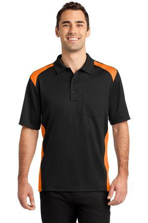 CornerStone CS416 Select Snag-Proof Two Way Colorblock Pocket Polo